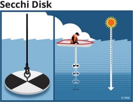 Secchi Disk Diagram